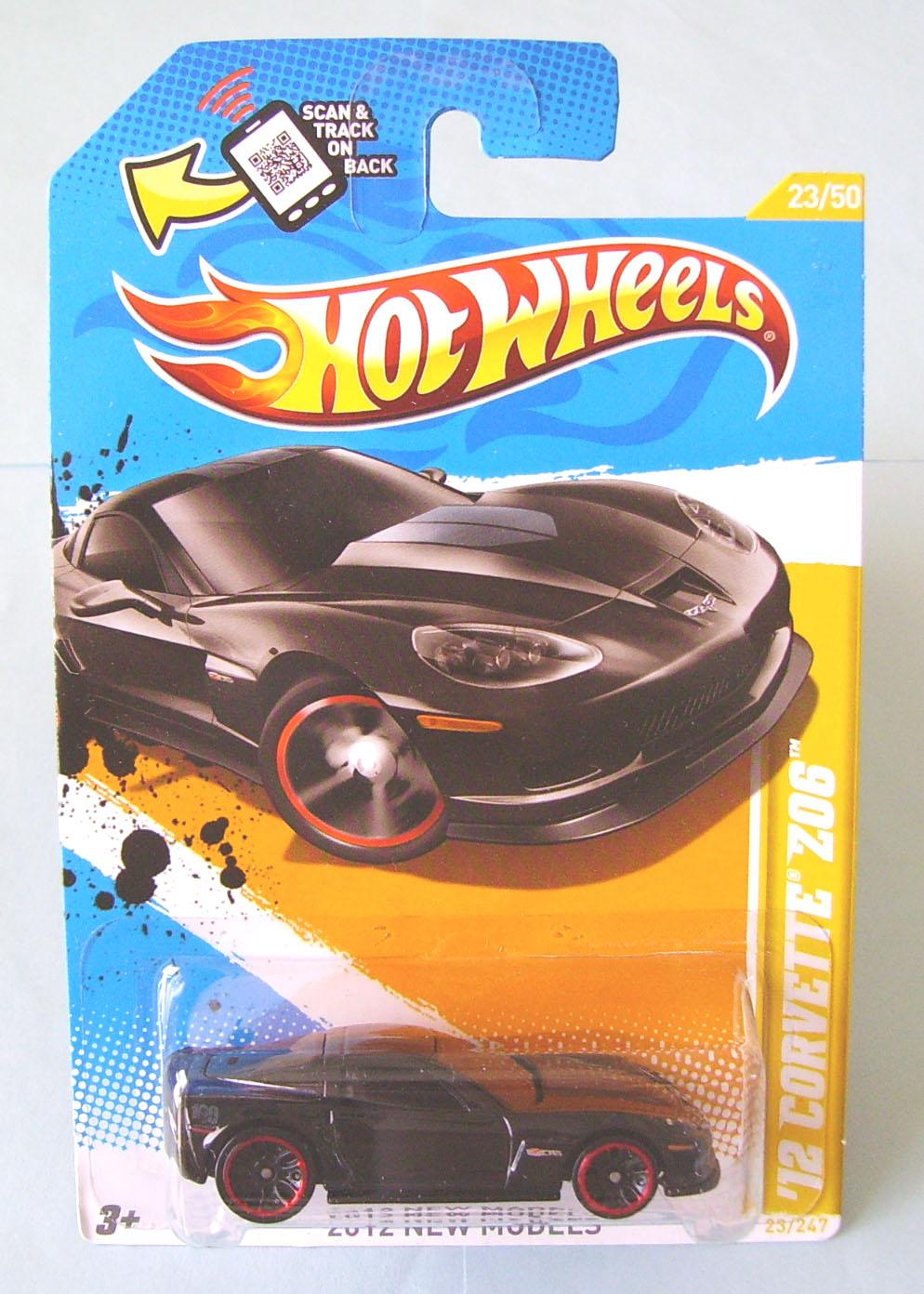 """Hot Wheels: """"2012 Corvette Z06"""""""